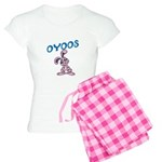OYOOS Kids Bunny design Women's Light Pajamas