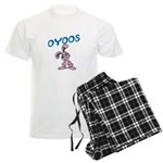 OYOOS Kids Bunny design Men's Light Pajamas