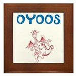 OYOOS Kids Dragon design Framed Tile