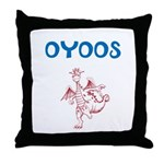 OYOOS Kids Dragon design Throw Pillow