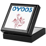 OYOOS Kids Dragon design Keepsake Box