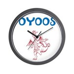 OYOOS Kids Dragon design Wall Clock