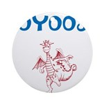 OYOOS Kids Dragon design Ornament (Round)