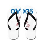OYOOS Kids Dragon design Flip Flops