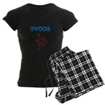 OYOOS Kids Dragon design Women's Dark Pajamas