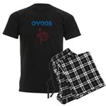 OYOOS Kids Dragon design Men's Dark Pajamas