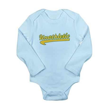 Unathletic Long Sleeve Infant Bodysuit