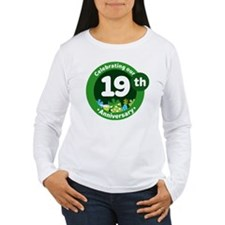 19th Anniversary Celebration Gift T-Shirt