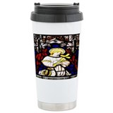 Stained Glass Angel Travel Mug