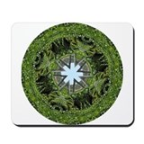 Green Mandala Mousepad