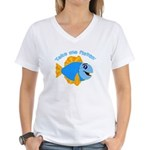 Take Me Fishing Women's V-Neck T-Shirt