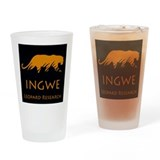 Ingwe Leopard Research Drinking Glass