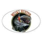 Musky hunter 8 Decal