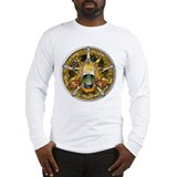 Samhain Pentacle Long Sleeve T-Shirt