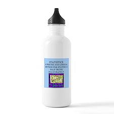 funny math geek gifts Water Bottle