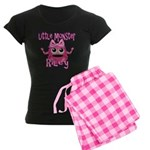 Little Monster Riley Women's Dark Pajamas
