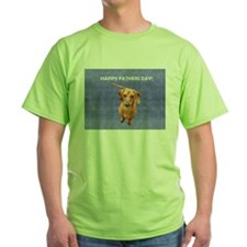 Fathers Day Dog T-Shirt