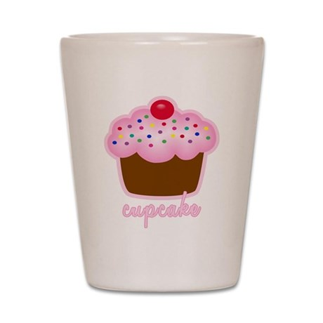 Cupcake Shot Glass