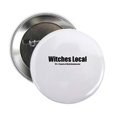 "Witches Local(TM) 2.25"" Button"