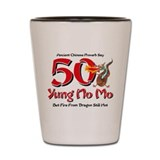 Yung No Mo 50th Birthday Shot Glass