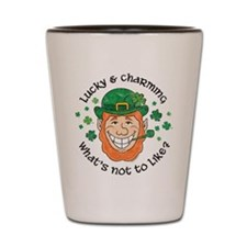 Lucky & Charming Shot Glass