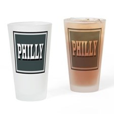 Philly Drinking Glass