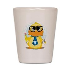 Math Teacher Duck Shot Glass