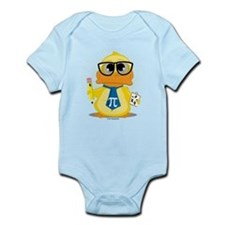 Math Teacher Duck Infant Bodysuit