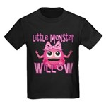 Little Monster Willow Kids Dark T-Shirt