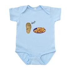 Potato French Fries Dad Infant Bodysuit
