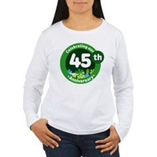 45th Anniversary Celebration Gift T-Shirt