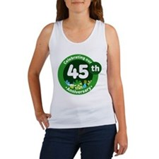 45th Anniversary Celebration Gift Women's Tank Top