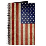 Distressed flag v2 Journals