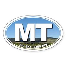 MT - Montana - Decal