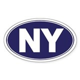 NY - New York Decal