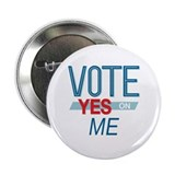 "Cute Personalized political 2.25"" Button"