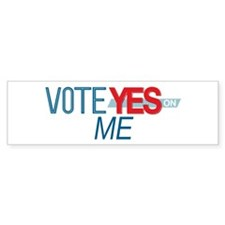 Vote for 8_bumpersticker Bumper Bumper Sticker