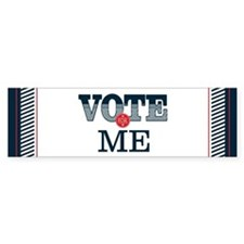 Vote for 10_bumpersticker Bumper Bumper Sticker