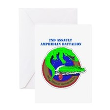 2nd Assault Amphibian Battalion with Text Greeting