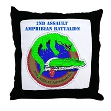 2nd Assault Amphibian Battalion with Text Throw Pi