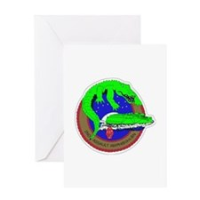 2nd Assault Amphibian Battalion Greeting Card