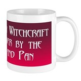"""Protected By Witchcraft"" Small Mug"