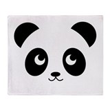 Panda Pupo Throw Blanket