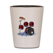 DRUM SET (5) Shot Glass