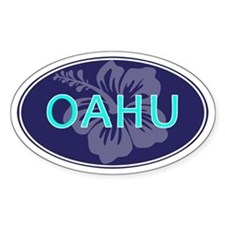 OAHU - Decal