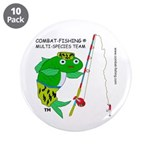 """3.5"""" Button (10 pack) Combat-fishing (R)"""