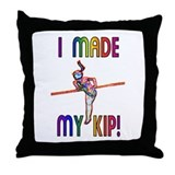 I Made My Kip Throw Pillow