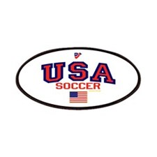 USA American Soccer Patches