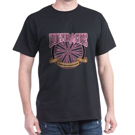 Breast Cancer Charity Ride Dark T-Shirt