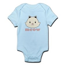 Animal Noises - Cat Meow Infant Bodysuit